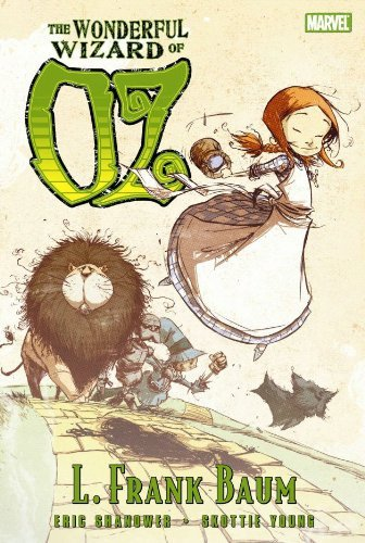 The Wonderful Wizard of Oz (Graphic Novel) (Hardcover) - Wizard Of Oz Novel