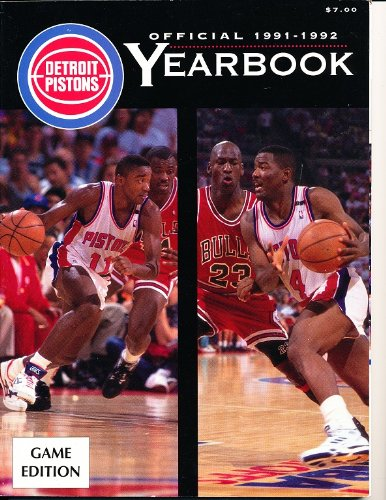 1991-92-Detroit-Pistons-Official-Team-Yearbook