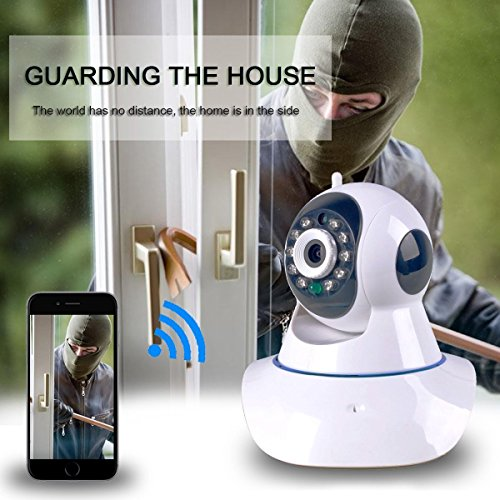 HD WiFi IP 960P Video Security Surveillance Spy Camera Nanny Pet Cam Baby Monitor ( 2-Way Audio~ Night Vision~Motion Detect~Alarm~Iphone~Android~Plug&Play)