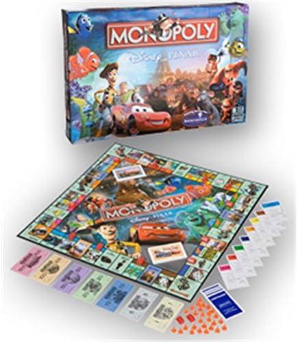 Hasbro Monopoly Disney Pixar Edition: Amazon.es: Juguetes y juegos
