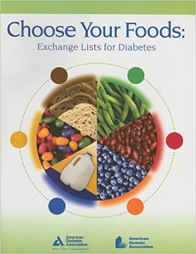 Choose Your Foods Exchange Lists For Diabetes 9780880913775