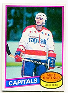 1980/81 Topps Mike Gartner Rookie Card #195 Washington Capitals
