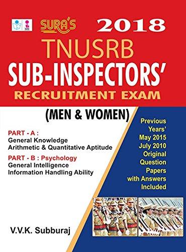 Sub-Inspectors' Recruitment Exam (Men and Women) Paperback – 2010
