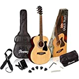 Ibanez IJVC50 Grand Concert Acoustic Guitar Package, Natural