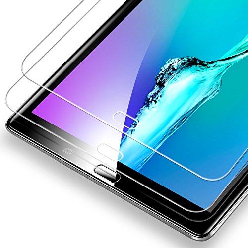 ESR Samsung Galaxy Tab A 10.1 Screen Protector [SM-T585( T580/T580N)], [2 Pack] 0.33mm [9H Tempered Glass][Bubble-Free] Anti-Scratch Anti-Fingerprint/Oil/Smudge for Samsung Galaxy Tab A 10.1 by ESR (Image #9)