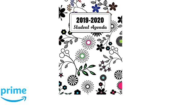 2019-2020 Student Agenda: Daily, Weekly, and Monthly ...