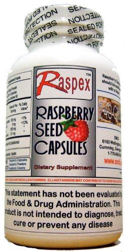 Raspex Raspberry Seed Capsules 240 Capsules by Raspex