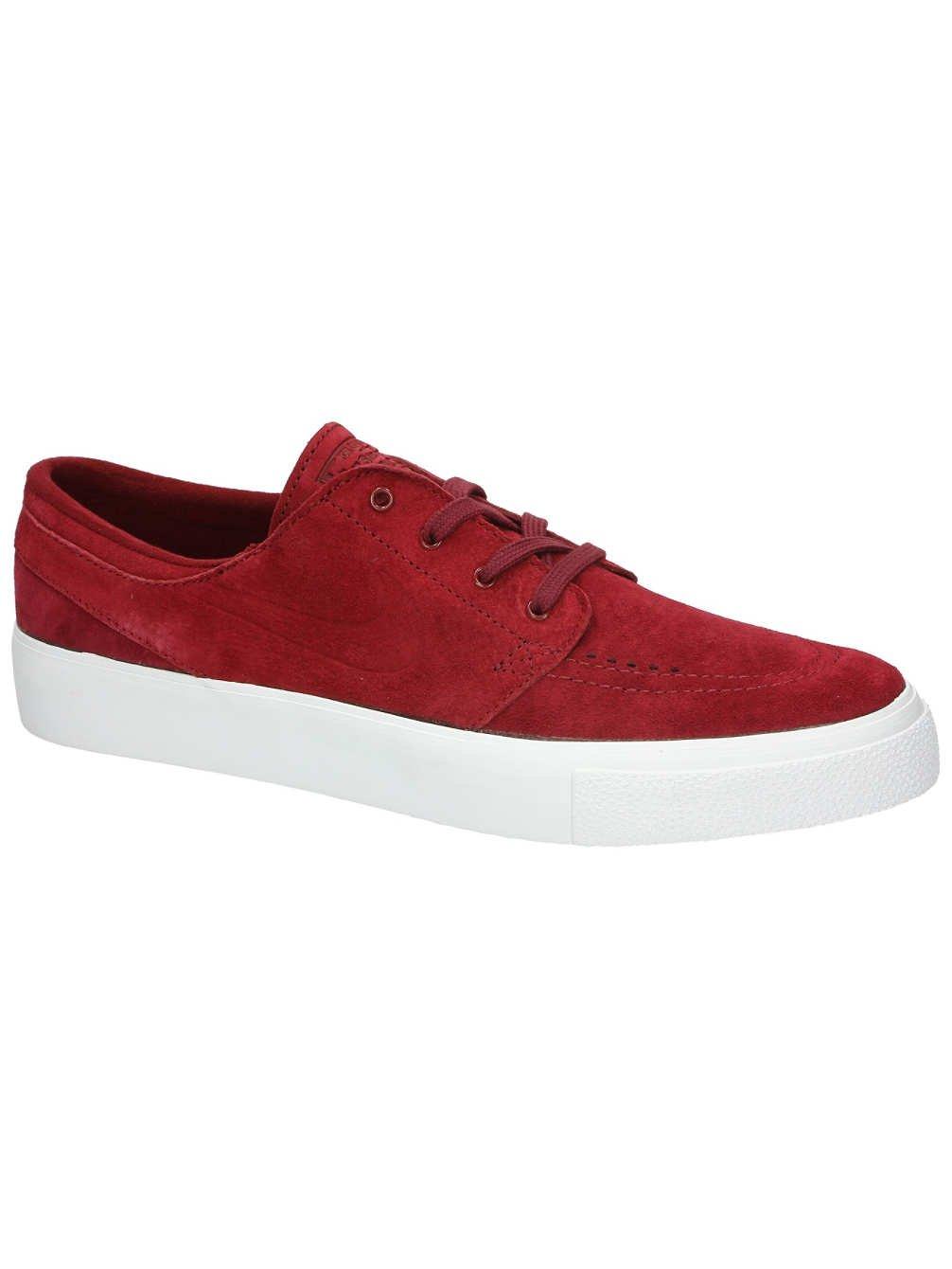 4c904c1cc6dc Galleon - Nike Men s Zoom Stefan Janoski Prem Ht Team Red White Low Top  Suede Skateboarding Shoe - 9M