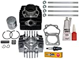 SUZUKI JR 50 JR50 PISTON RINGS CYLINDER GASKET TOP KIT SET 1985-2006 BRAND NEW