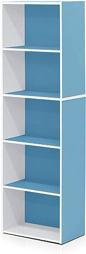 Cheap Furinno Reversible Color Open Shelf Bookcase/Bookshelf/Storage Shelves modern bookcase for sale