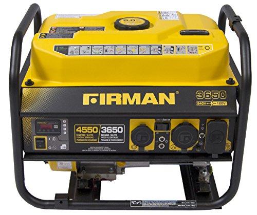 Firman P03605 Performance Series 3650 Watt 120/240 No Wheel
