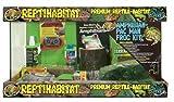 Zoo Med Laboratories SZMNTA10 Reptihabitat Amphibian/Pac Man Kit, 10 Gallon