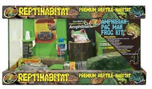 ZooMed SZMNTA10 Reptihabitat Amphibian/Pac Man Kit, 10 Ga...