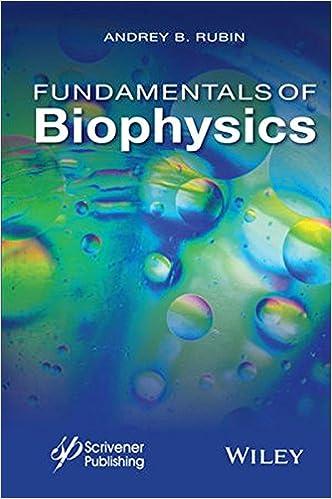 Fundamentals of biophysics andrey b rubin 9781118842454 amazon fundamentals of biophysics 1st edition fandeluxe Gallery