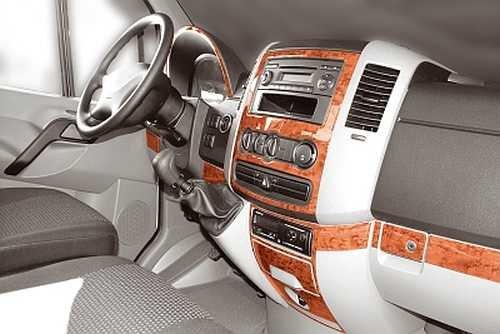 PreWoodec cabina decorativo para Volkswagen Crafter - 04.2006 - 08.2011 (exclusiva 3d Vehículo de equipamiento - Fabricado en Alemania): Amazon.es: Coche y ...