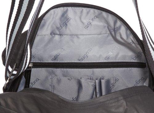 """Bugatti Bags """"Hangar RV-Umhängetasche, groß schwarz"""" """"49554401"""" - Bolso de hombro de nailon unisex Negro"""