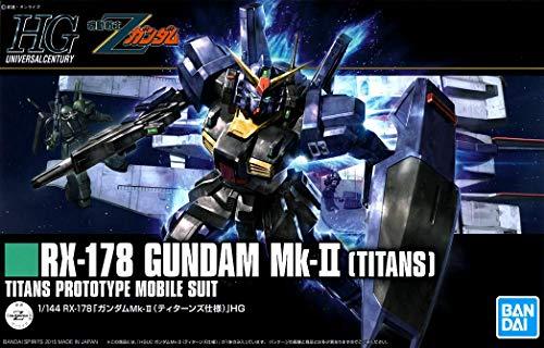 Bandai Hobby HGUC 1/144 Mk-II (Titans) Zeta Gundam Model Kit from Bandai Hobby