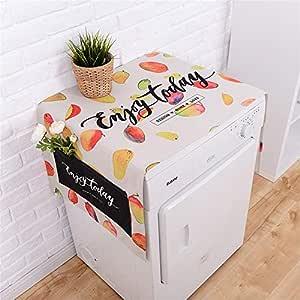 Lavadora cubierta Refrigerador Lavadora Multifunción Cubierta ...