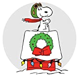 Marmont Hill Peanuts Snoopy Ace Canvas Wall Art, 18 by 18-Inch