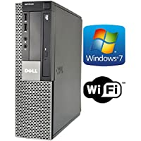 Dell Optiplex 960 SFF Desktop Computer PC - Intel Core 2 Duo CPU 3.0GHz, 4GB Memory, 160 GB HDD, DVD, Windows 7 Professional (Certified Refurbished)