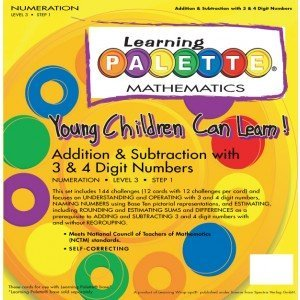 Cards Learning Palette - 3rd Grade Math Learning Palette Numeration 3.1