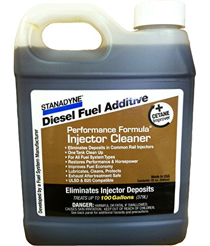Stanadyne Performance Formula Diesel Injector Cleaner - Case of 12, 32oz Bottles by Stanadyne