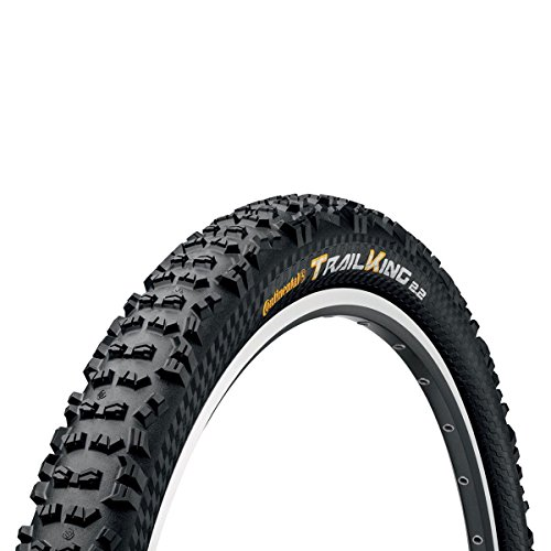 Continental Trail King Fold ProTection/Apex, Black Chili, Mountain Bike Tire, 29 x 2.4cc, Black
