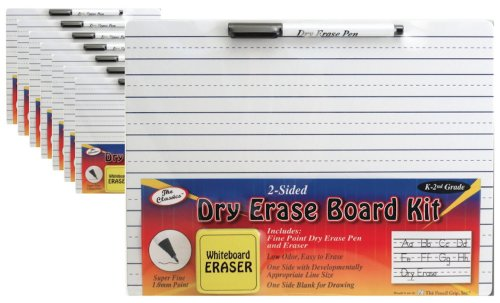 The Pencil Grip The Classics Classroom Pack (12) Whiteboa...