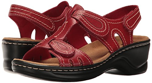 Rojo mujer Clarks para Nogal Q Lexi wqWTO7WA1