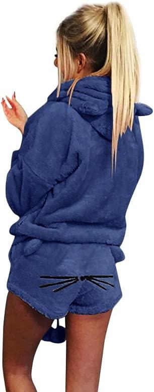 Pijamas De Mujer para Sudaderas con Capucha Sudadera con ...