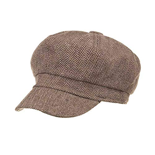 Mzhpld Female Beret Bonnet Women New Wool Black Warm Winter Caps Hat Khaki Cap Fashion BwXxraqnB