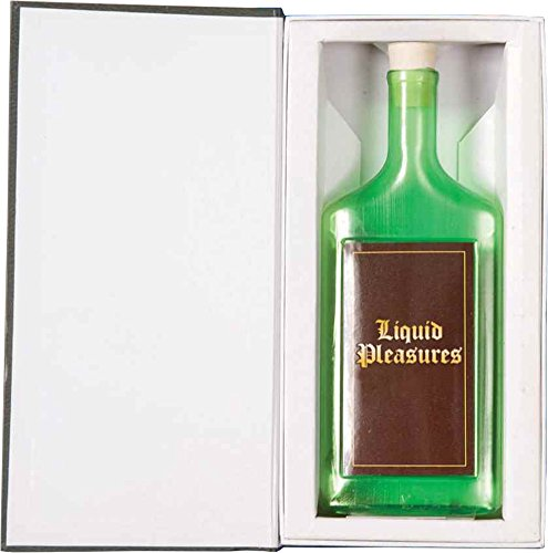 Forum Novelties Men's Bottle In A Book, Multi-color, One Size