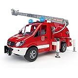 Bruder MB Sprinter Fire Engine with Ladder, Water Pump, and Light/Sound Module