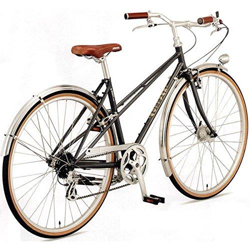ARAYA(アラヤ) クロスバイク SWALLOW Promenade Mixte(PRM) スチールグレー 450mm B0767BJH93