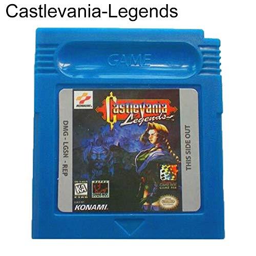 Gyswshh Game Cartridge Card ,Gameboy,English Castlevania Legends for Nintendo Color GBC Castlevania - Legends