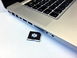 MiniDrive Nifty Air Micro SD Card Adaptor up to 200GB Storage Expansion for MacBook Air 13\