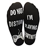 'Do Not Disturb' I'm Playing Fortnite' Funny Ankle Socks - Great Gamer Gift For Fornite Lovers
