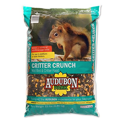 Audubon Park 12243 Critter Crunch Wild Bird and Critter Food, (Kaytee Squirrel)