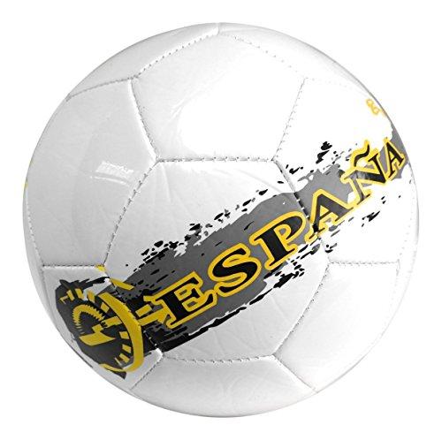 Danny's World Soccer Ball - Official Size 5 ESPANA! Street Edition with BONUS Pump INCLUDED!