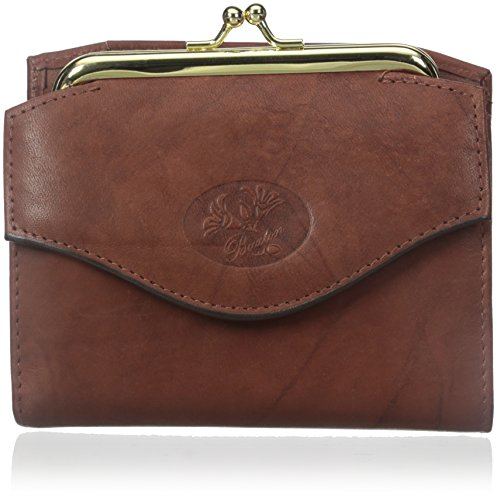 Buxton Heiress French Purse Wallet, Mahogany, One - Ladies Buxton Wallets