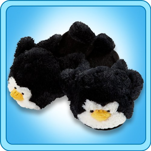 - My Pillow Pets Penguin Slippers Small