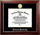 Harvard University 22K Gold Medallion Diploma Frame (11 X 14)