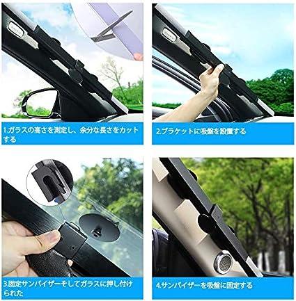 Woisttop Pare-soleil de voiture avec motif /œil de chat noir et yeux dor/és pour garder votre v/éhicule au frais et sans dommages r/éflecteur UV et chaleur