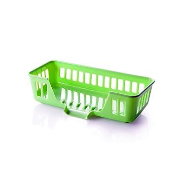 Die Waschbecken aus Kunststoff das Wasser ablassen, Korb, hängenden ...