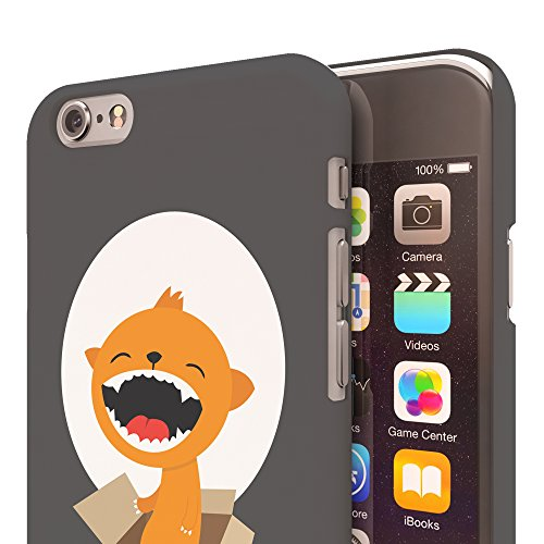 Koveru Back Cover Case for Apple iPhone 6 - Cub in a box on a full moon day