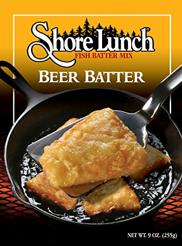 Shore Lunch Breading Mix Beer Batter, 9-Ounce (Pack of 6)