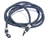 Natural Cork Eyeglass Chain (Dark Blue)
