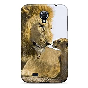 Fashion Tpu Case For Galaxy S4- Lion Love Defender Case Cover