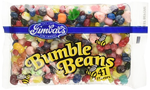 Gimbal's Fine Candies Bumble Beans 41 Flavors of Jelly Beans 16 Ounce Bag