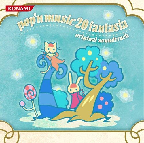 POPN MUSIC20 FANTASIA ORIGINAL SOUNDTRACK(3CD+BOOKLET) (Music N Cd Pop)